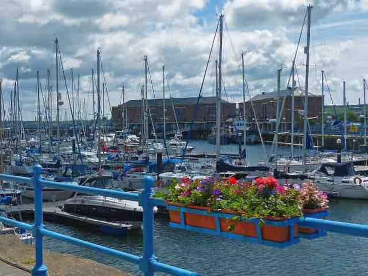 Sea & Harbour views Apartment on Milford Marina