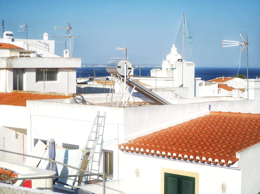 View of Ocean from Roof Terrace
