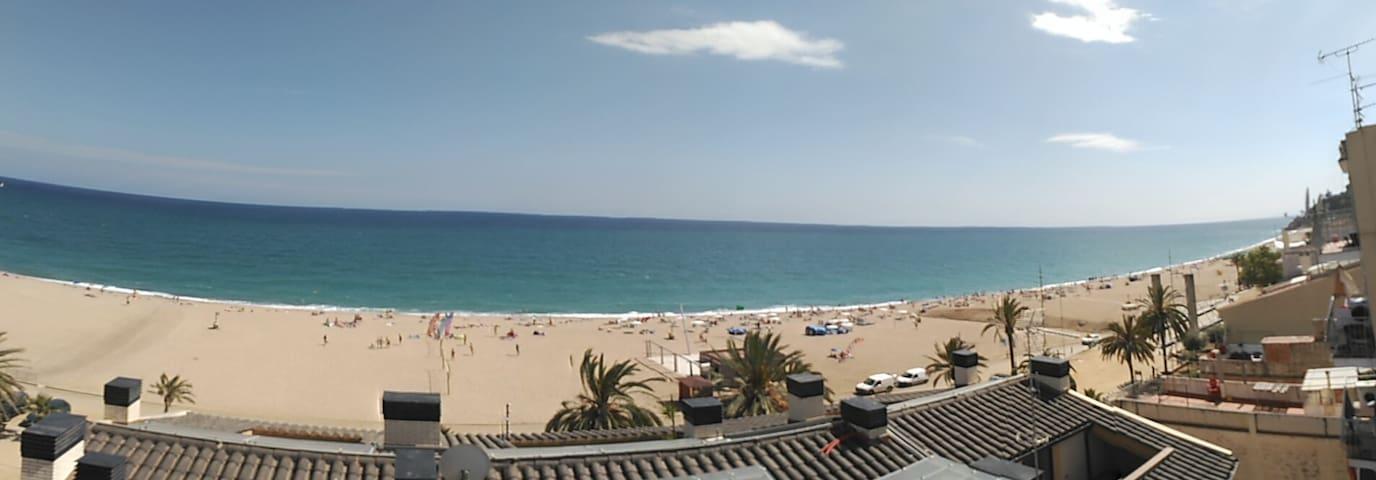 T030 Magnífico piso en segunda linea de playa - Barcelone - Appartement