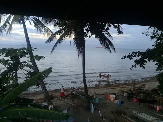 Overlooking view from 3 storey beach house