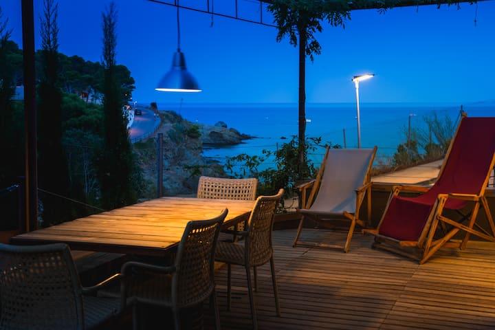 Beachfront Colera (Costa Brava)