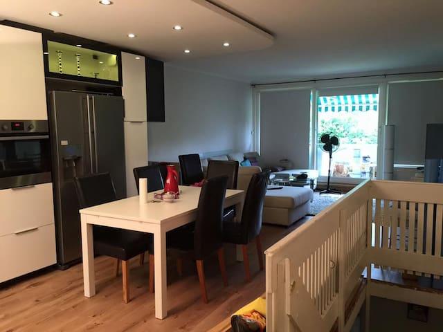 Close to Bærum Sykhus. Great rent between 18/6-2/7 - Bærum - Appartement
