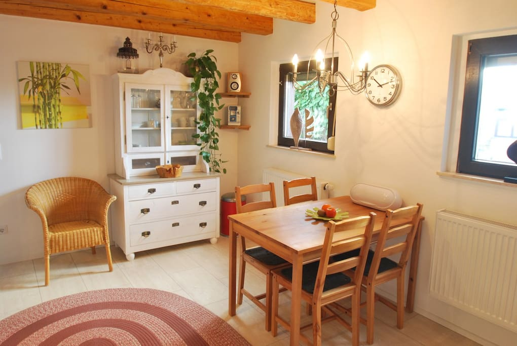Wohnküche im Erdgeschoß