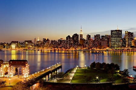 1#Manhattan View #Manhattan 1 Stop #For one person - Queens - Apartment