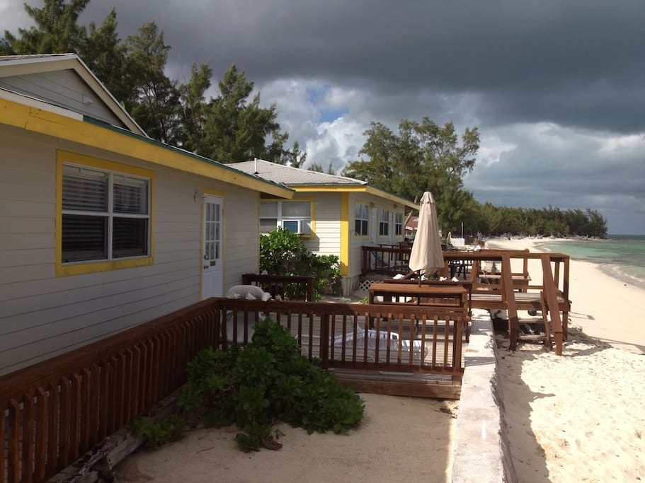 Treasures of andros beach house emerald apartments for for Beach houses for rent in bahamas