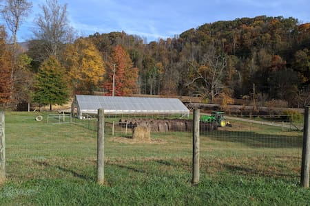 NC Mountain Farm-Stay on beautiful trout waters