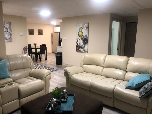 New 2 Bedroom Basement Apartment