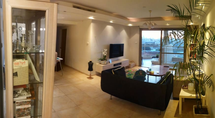 Kosher, Spacious,  w View & Jacuzzi - Giv'at Shmuel - Appartement