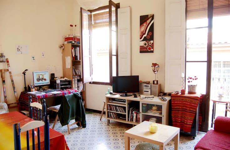 Habitación Doble con encanto :) - บาร์เซโลนา - บ้าน