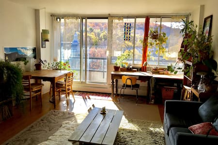 Sunniest nest in heart of  Montreal - 蒙特利尔 - 公寓