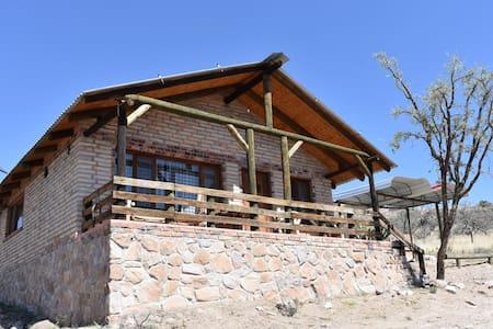 Cabaña Rústica amplia para 8 personas