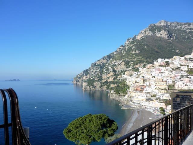 Pleasant Apartment with Charming Sea View - Positano - Appartement