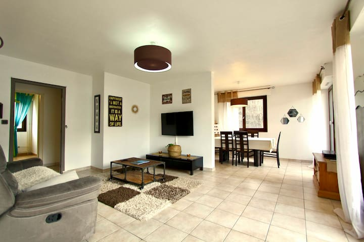 Charming 3 rooms dowtown Le Fayet (Saint Gervais)