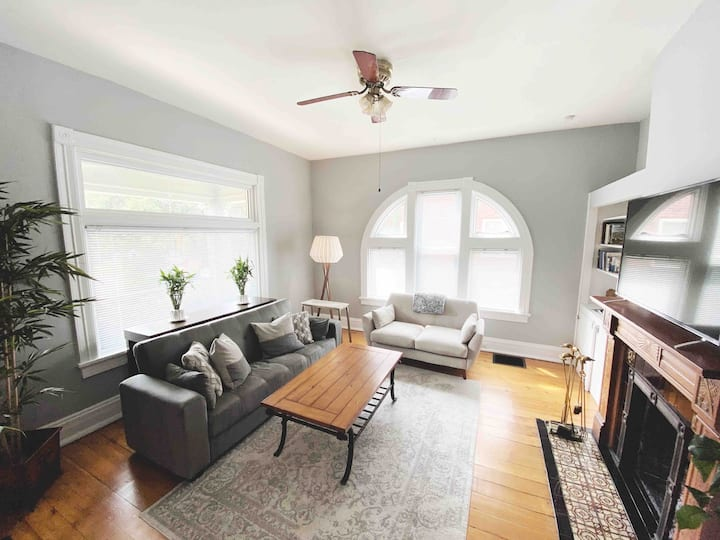 Spacious & Bright Home in Central Cincinnati