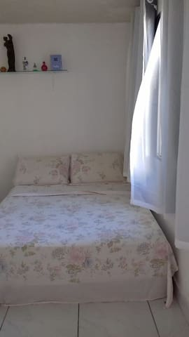Double bedroom at Guarapari Dowtown