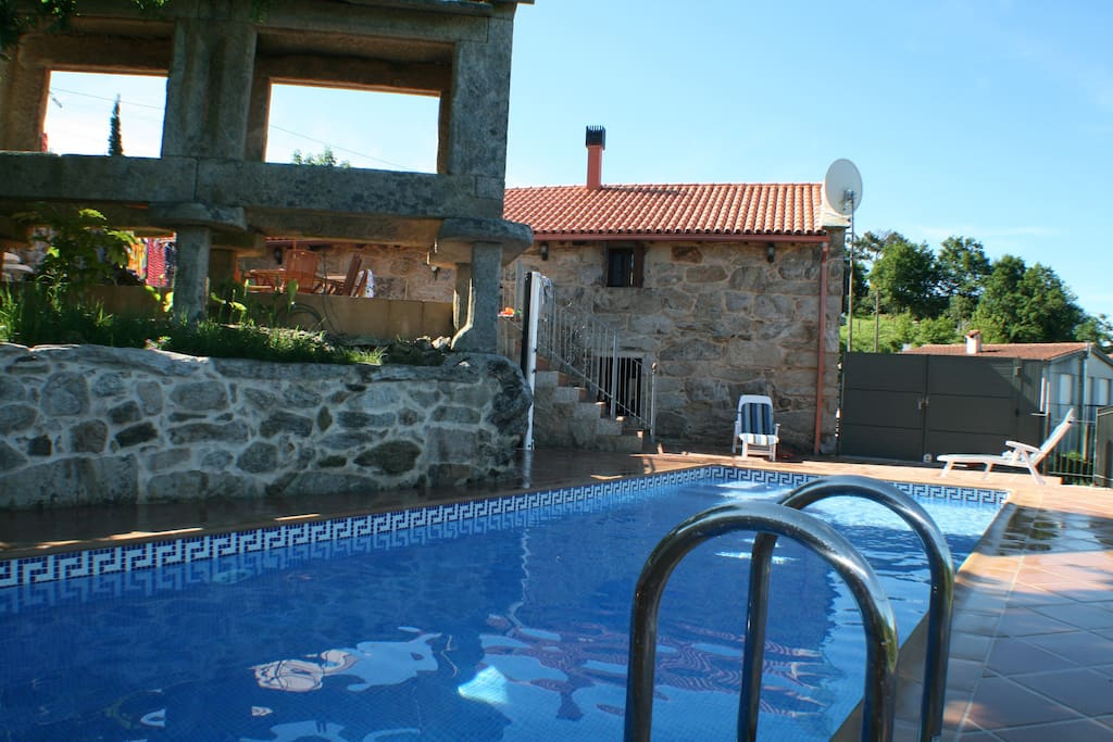 Villa from Pool