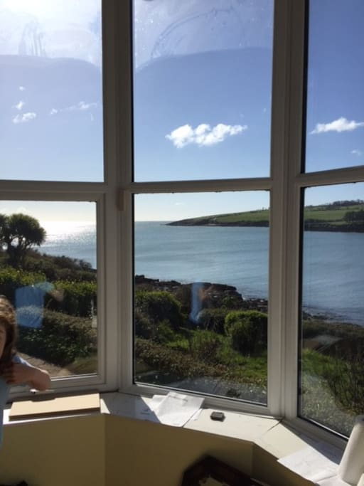 View from the bay window