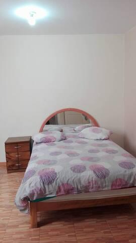 Comoda y amplia habitacion con baño privado !!