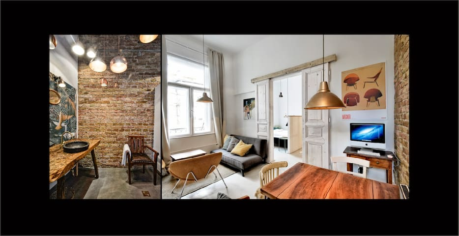 Designer apartment downtown-A50