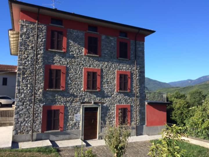 Cozy Rustic Stone House