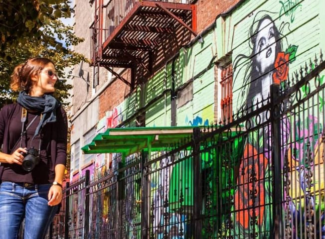 Brooklyn is the most artistic part of New York City
