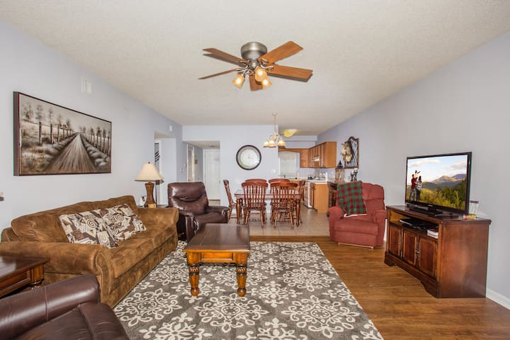 3 Recliners, Riverside Balcony, Ticket to Area Shows/Dollywood