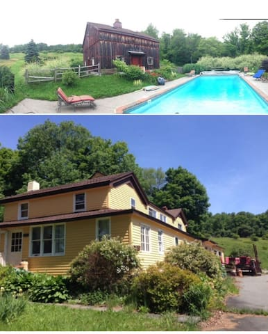 Catskills Rustic House 1829 and Inground Pool - Parksville - Hus