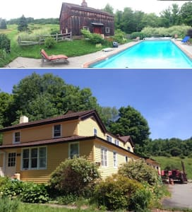 Catskills Rustic House 1829 and Inground Pool - Parksville - Ház