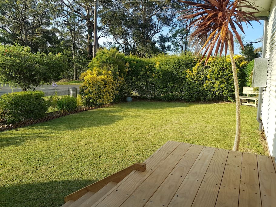 Our mature landscaped grounds