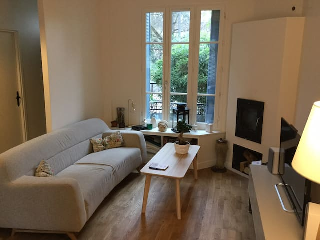 Charming house in Suresnes close to Paris - Suresnes - Huis