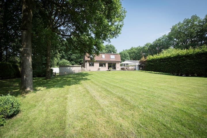 KOMBINN: 1000sqm privacy in the woods near Bruges!