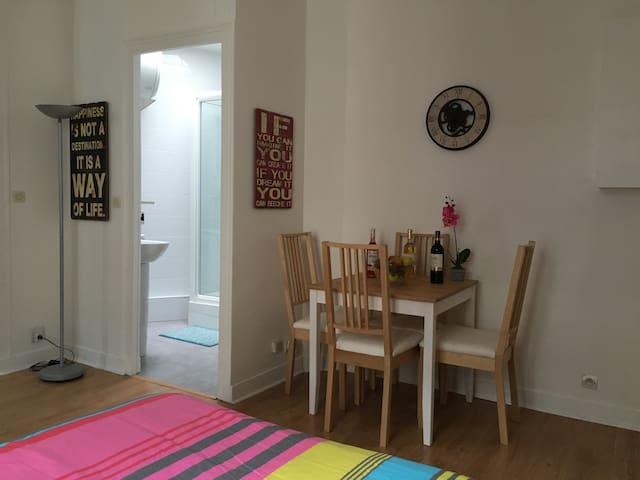 Studio spacieux et calme - Paris - Apartamento