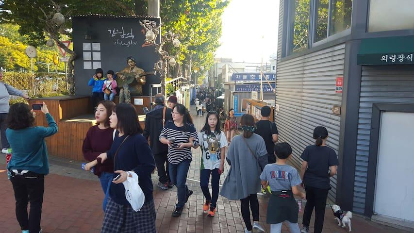 Central Dae Gu/2 rooms/김광석거리3분,대구중심가5분(동성로 중앙로)방2개