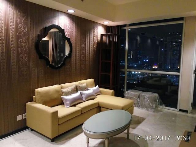 Luxury 3BR apartment premium area - Setiabudi - Pis