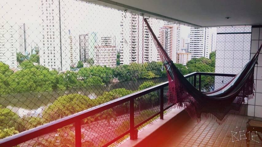 Apto 2 quartos (1 suite) 220m - Recife - Appartement