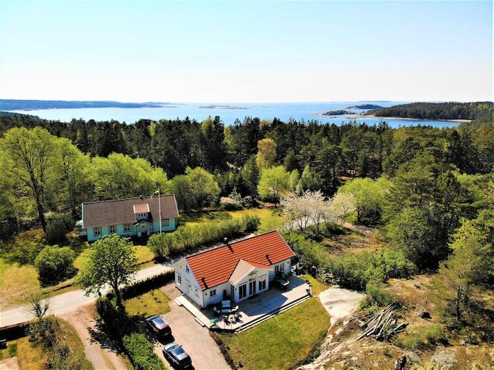 New villa near beach