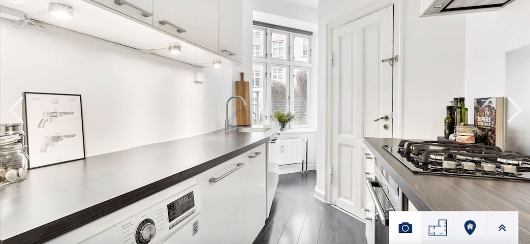 Newly renovated apartment in heart of Copenhagen