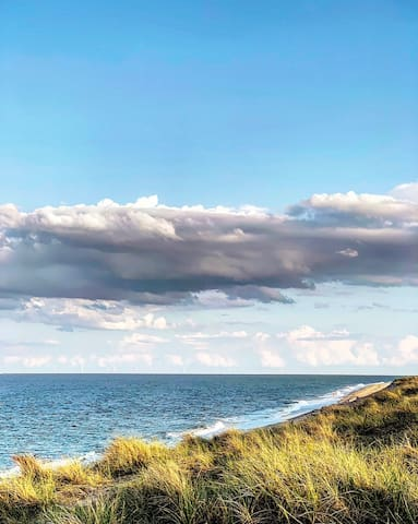 Coastal View from the dunes in Winterton-On-Sea