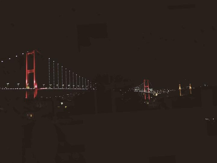 Ortaköy - Terrace with Bosphorus Bridge View