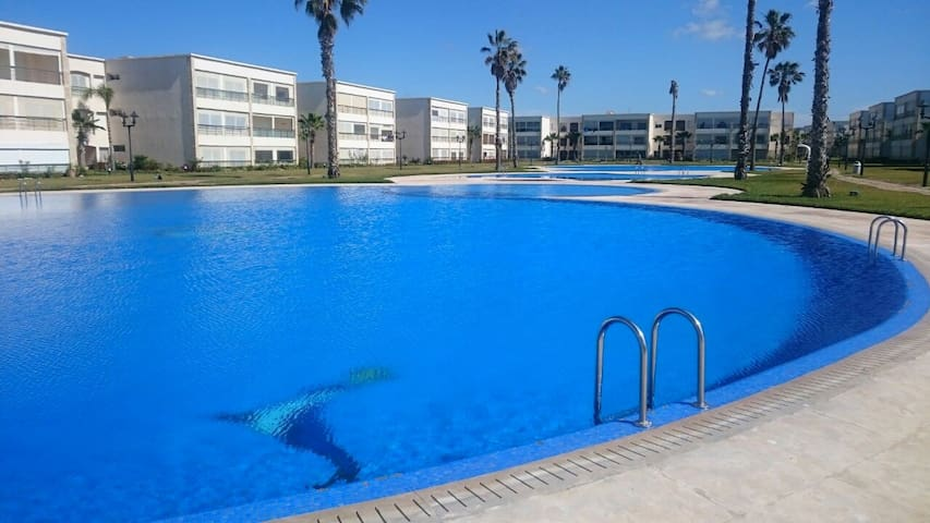 Ola blanca - résidence bord de mer - Kasablanka - Ortak mülk
