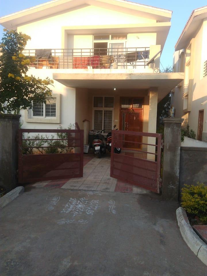 Hyderabad house with garden