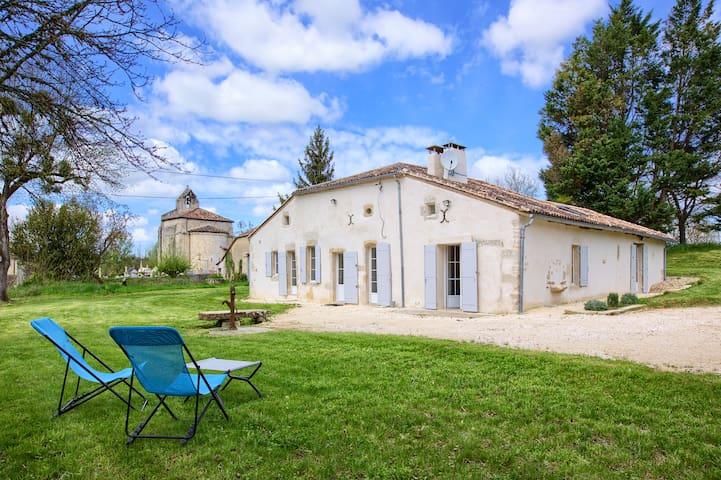 Belle maison ancienne rénovée en 2017