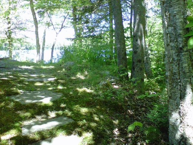 Peaceful Lakefront Cottage on Levenseller Pond - Searsmont - Bungalow