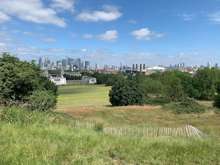 The views from Greenwich park