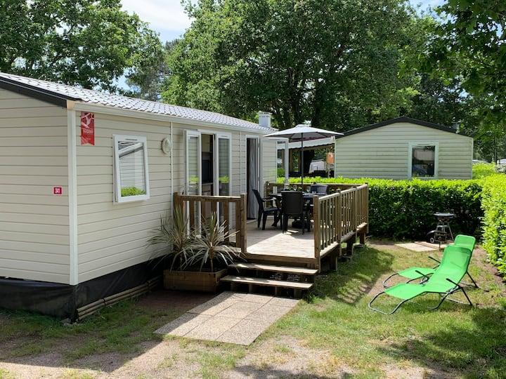 Mobil home 4-6 personnes dans camping 4*