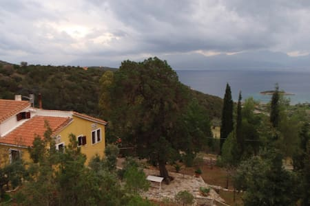 The view of Korinthiakos - House