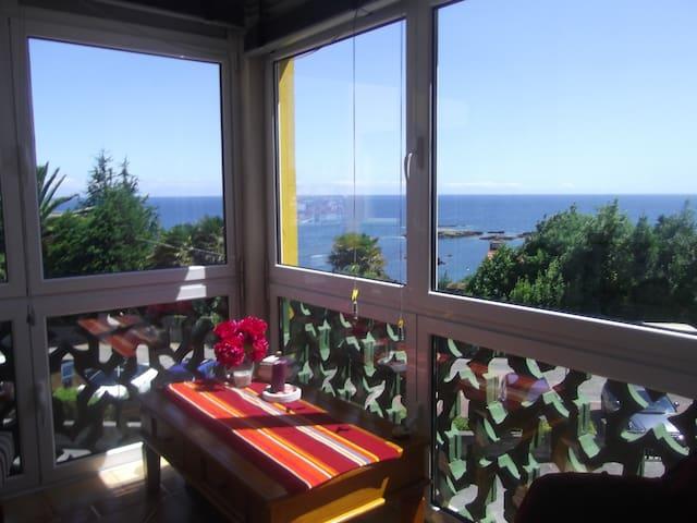 Estupendas vistas al mar y a LUANCO - Asturias