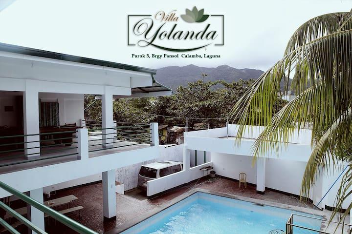 Relaxing Stay @ Villa Yolanda in Pansol Laguna