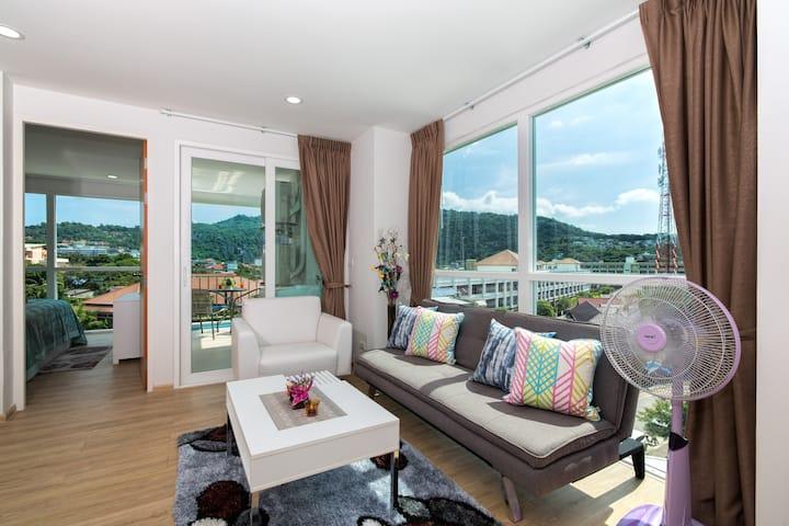 Wonderful 1 Bedroom Apartment @Kata, beach - 900 m