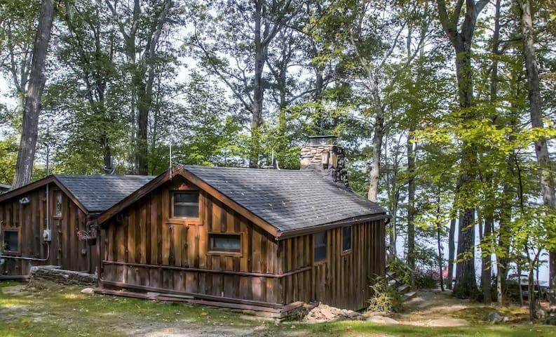 Lakefront 3BR Catskills Cabin - Wurtsboro - Kisház